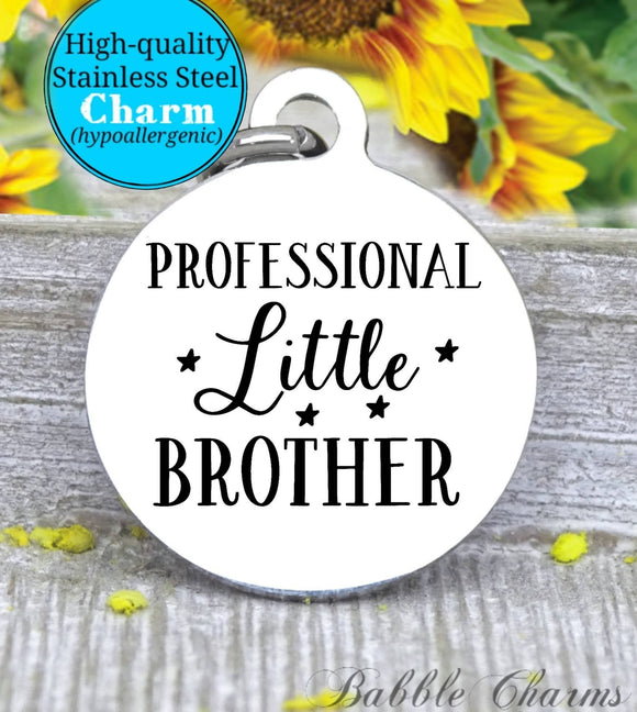 Professional little brother, little brother, brother, brother charm, charm, Steel charm 20mm very high quality..Perfect for DIY projects