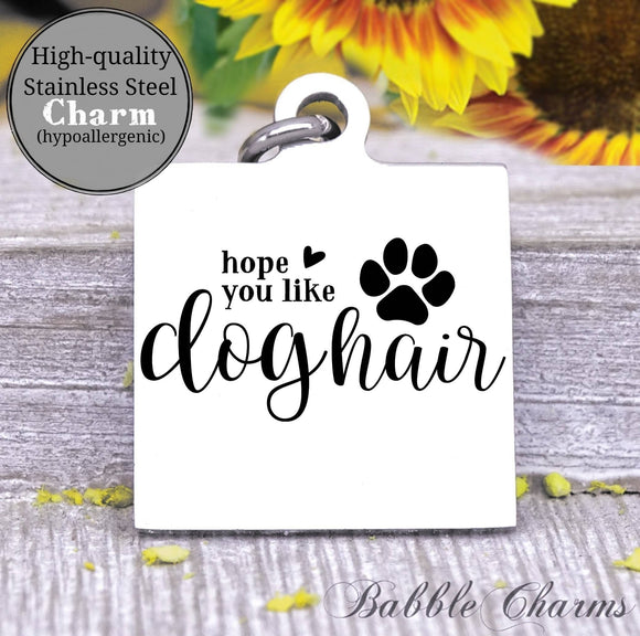 Hope you like dog hair, dog, dog charm, pet charm, Steel charm 20mm very high quality..Perfect for DIY projects
