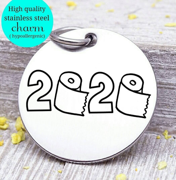 2020, class of, 2020, 2020 charm, Steel charm 20mm very high quality..Perfect for DIY projects