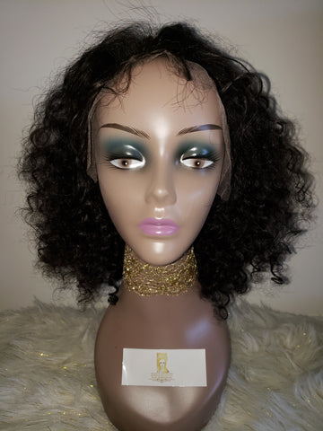 Full Front Lace Wig (Deep Curly)