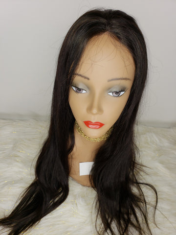 Full Front Lace Wig (Natural Wave)