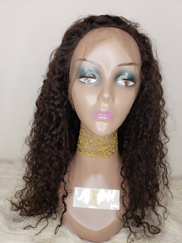 Full Front Lace Wig (Water Wave)