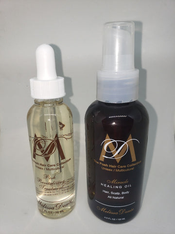 #8 Posh Revitalizing Treatment Drops and Miracle Healing Oil