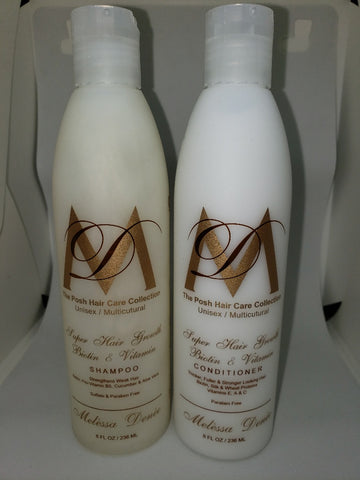 #6 Posh Super Hair Growth Biotin & Vitamin Shampoo and Conditioner
