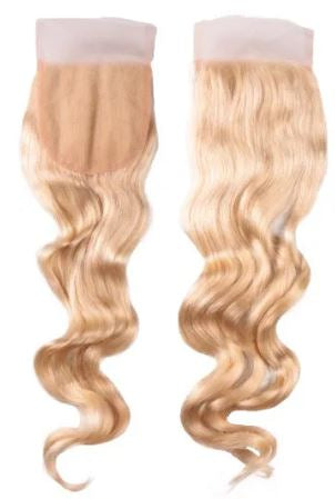 Brazilian Platinum Loose Wave Lace Closure