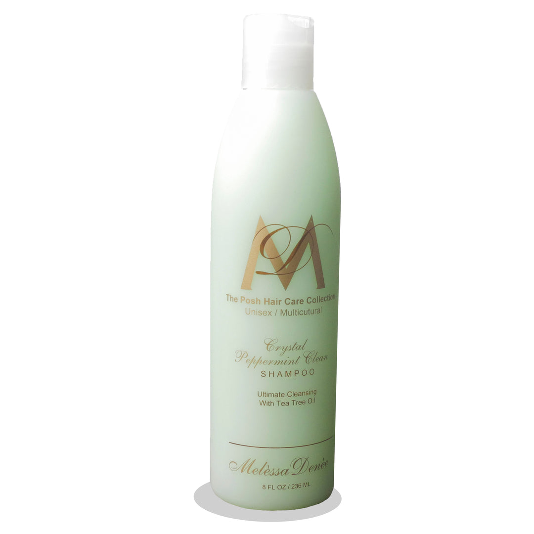 Crystal Peppermint Clean Shampoo (Recommended for Deep Cleansing)