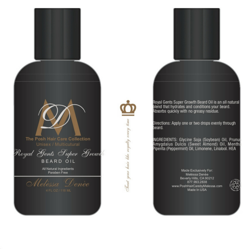 Royal Gents Super Growth Beard Oil