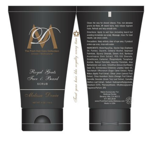Royal Gents Face and Beard Scrub