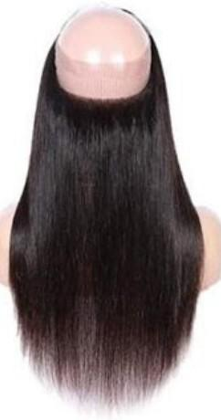 Brazilian 360 Kinky Straight Lace Frontal