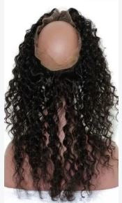 Brazilian 360 Deep Curly Lace Frontal