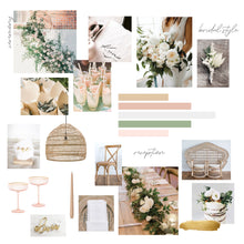 Load image into Gallery viewer, Wedding Styling Moodboard