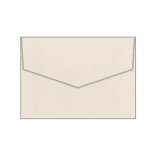 nude beige linen texture wedding envelope