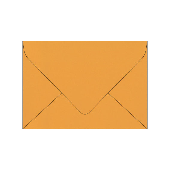 mustard yellow wedding envelope