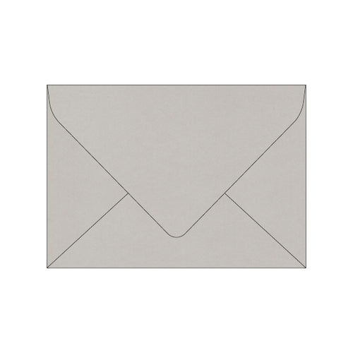 light stone grey wedding envelope