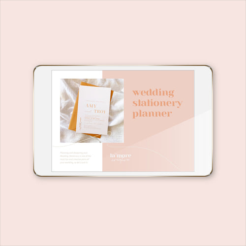 wedding planner stationery invitations