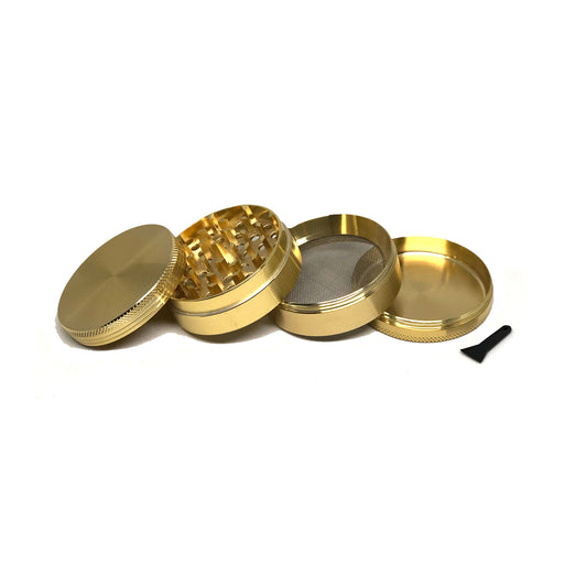 "META 2.5"" 4pc Grinder (Gold)"