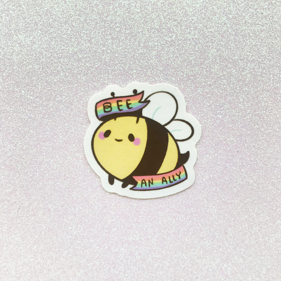 Pride Bee Stickers