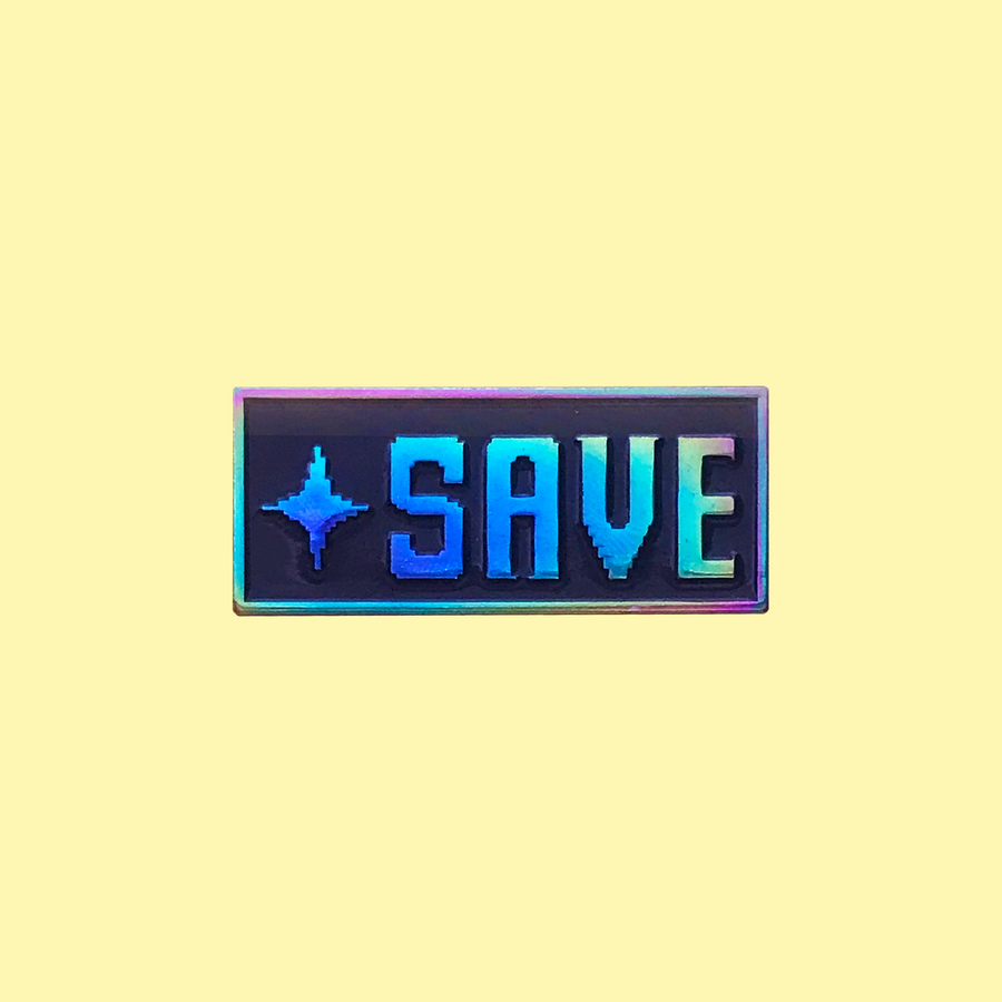 SAVE Enamel Pin