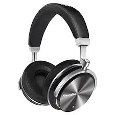 Bluedio T4 Active Noise Cancelling Wireless Bluetooth Headphones - Black