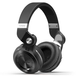 Bluedio T2+ Over Ear Wireless Bluetooth Headphones - Black - audioireland.ie