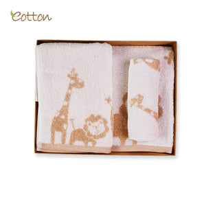 Eotton Organic 3 piece towel set - assorted prints
