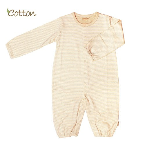 Eotton Organic Unisex long sleeve romper, 1 piece outfit - 3 prints