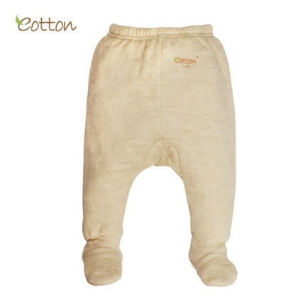 Eotton Organic Baby Footed Pants - quilted - airlayer