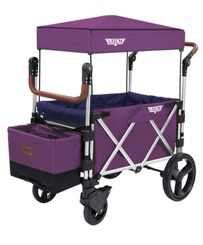 Keenz 7s Strollerwagon - Purple