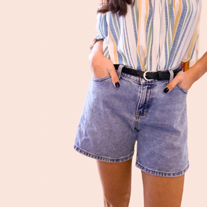 Vintage denim shorts (one of the kind)