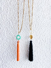 Basic tassel necklace