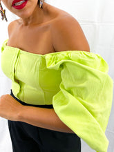 Green lime top