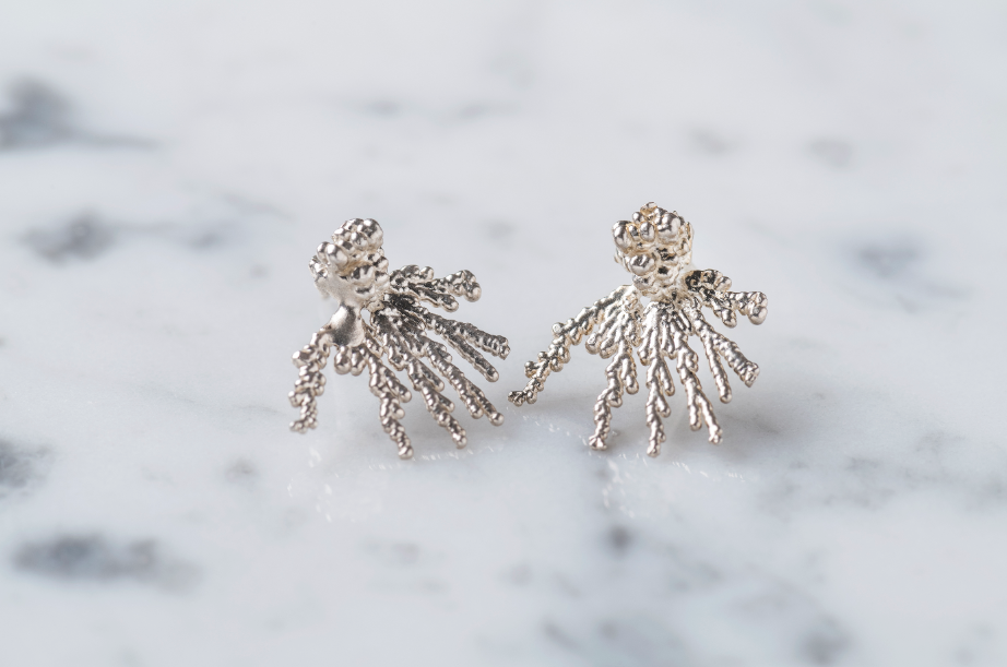 Earrings Acropora Silver