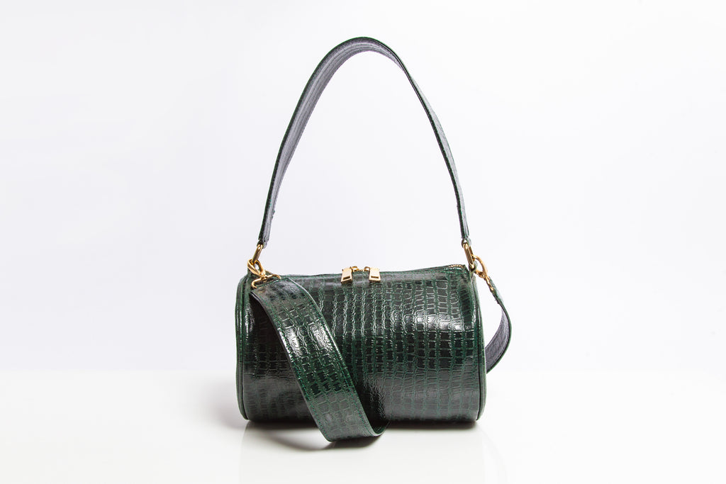 Cartera Barrel Lizard