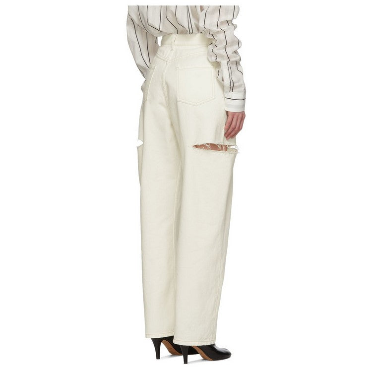 Pantalón Slash Blanco