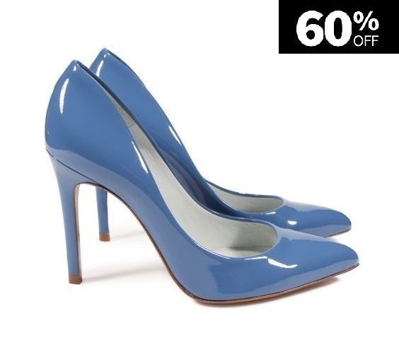 Stiletto Azul Cielo