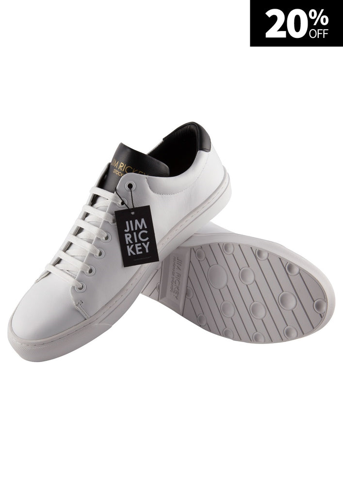 Zapatilla Man White Black