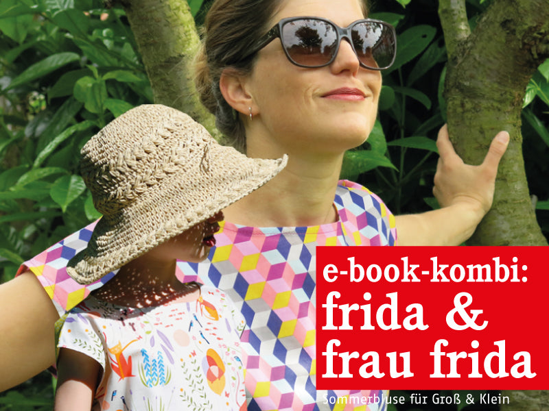 FRAU FRIDA & FRIDA • Sommerblusen im Partnerlook, e-book Kombi