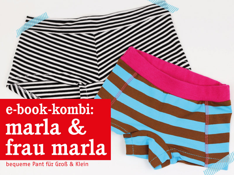 FRAU MARLA & MARLA • Pants im Partnerlook, e-book Kombi