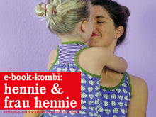 Laden Sie das Bild in den Galerie-Viewer, FRAU HENNIE & HENNIE • Tops im Partnerlook, e-book Kombi