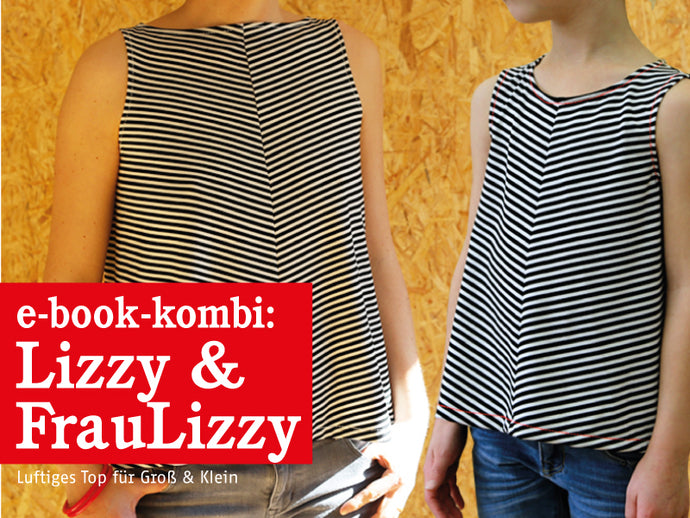 FRAU LIZZY & LIZZY • luftige Tops im Partnerlook, e-book Kombi