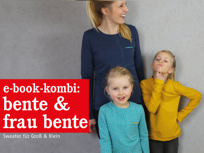 FRAU BENTE & BENTE • Sweater im Partnerlook, e-book Kombi