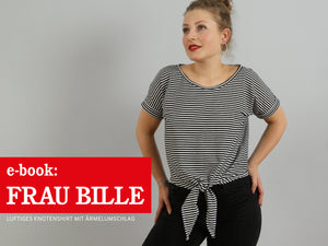 FRAU BILLE • lässiges Knotenshirt  ebook