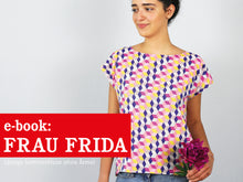 Laden Sie das Bild in den Galerie-Viewer, FRAU FRIDA • Sommerbluse,  e-book