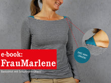 Laden Sie das Bild in den Galerie-Viewer, FRAU MARLENE • Shirt,  e-book