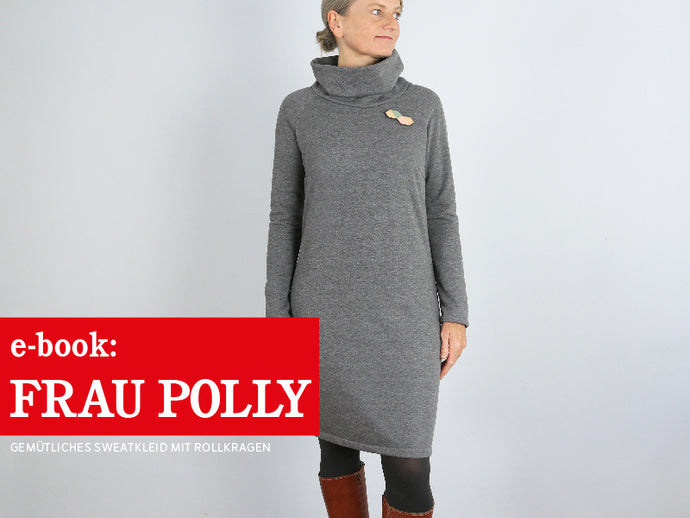 FRAU POLLY • Sweatkleid mit Rollkragen,  e-book