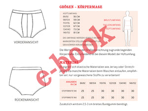 HERR JOHN & JOHN • Pants im Partnerlook, e-book Kombi