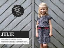 Laden Sie das Bild in den Galerie-Viewer, JULIE • Jerseykleid & Shirt,  PAPIERSCHNITT