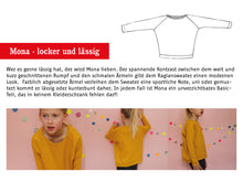 Laden Sie das Bild in den Galerie-Viewer, MONA • Raglansweater, e-book