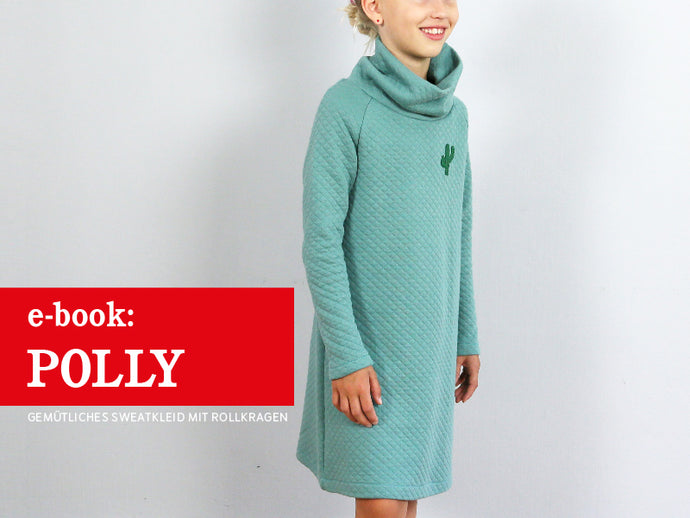 POLLY • Sweatkleid mit Rollkragen, e-book