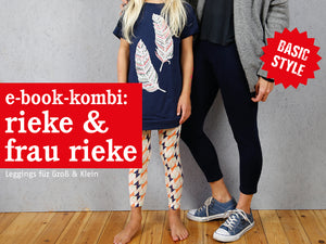 FRAU RIEKE & RIEKE • Leggings im Partnerlook, e-book Kombi